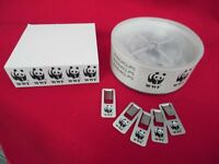 WWF World Wildlife Fund Panda Stationery Vintage Post-Its and Pandaclips Paper Clips Page Markers