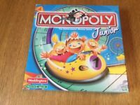 Junior Monopoly board game - ages 5-8