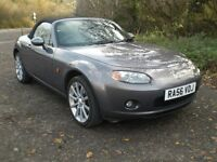 MAZDA MX-5 2.0 SPORT 6 SPEED 2006 56 REG. ONE LADY OWNER, HIGH MILEAGE, MAIN DEALER SERVICE HISTORY.