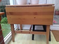 Ikea wooden table