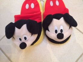 Mickey Mouse slipper size 3 NEW