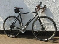 Classic 2013 Croix de Fer bike by Genesis. 54 cm frame. Good road bike for all conditions