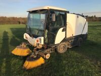 Johnson year 2003 road sweeper