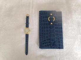 Matching Watch and purse