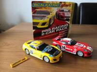 SCALEXTRIC PRO RACING 2 CAR PACK DODGE VIPERS