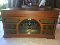 Crosley Vintage style Record/Cassette/CD/radio player