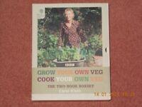 Grow Your Own Veg + Cook Your Own Veg (2 Box Set) by Carol Klein - Garden