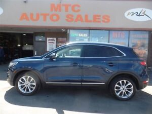 2016 Lincoln MKC SUNROOF, NAV, LEATHER, ECOBOOST, AWD