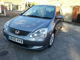 *****HONDA CIVIC 1.6 ***** 2005 ***** LOW MILAGE ****