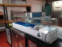 Refrigerated food display cabinet 1,5 m Restaurant