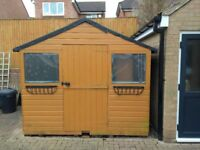GARDEN SHED - TONGUE and GROOVE - L2350mm x W2840mm