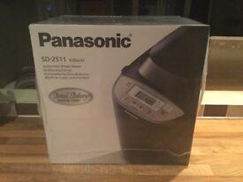 PANASONIC BREADMAKER SD-2511 (BLACK) RRP £139.99 - BRAND NEW & SEALED