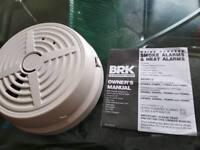 brand new smoke and heat detector