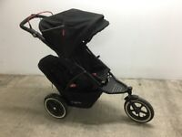 Phil & Teds Navigator v2 Double Buggy