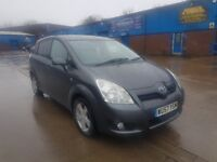 Toyota Corolla Verso T3 Low Miles Long Mot Starts And Drives Perfect 7 Seater Cheap Price