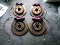Nissan Skyline GTSt full brake kit, big front disks.