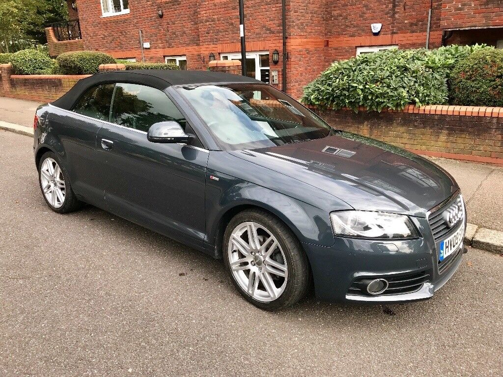 Audi A3 Cabriolet 2.0 TDI S Line S Tronic 2009