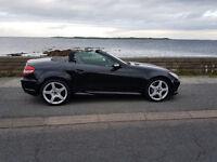 Mercedes slk 350 black manual
