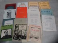 Large and Varied Collection of Old Sheet Music.