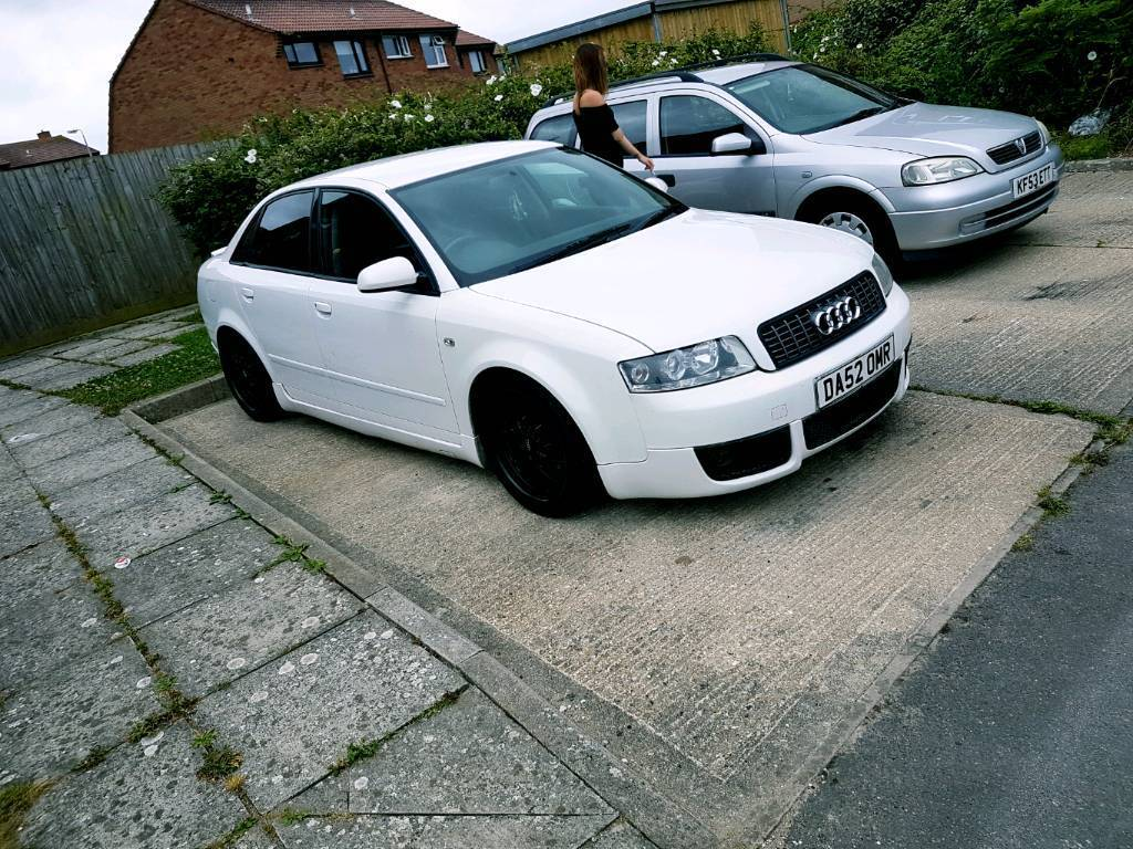 audi a4 b6 pd sports rare white in weymouth. Black Bedroom Furniture Sets. Home Design Ideas