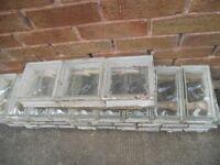 Glass Bricks at less than one pound each