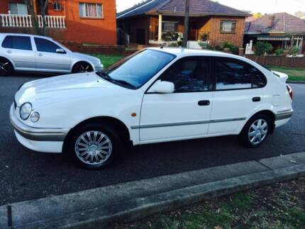 2000 Toyota Corolla Auto Conquest Sports LONG REGO 4 Cyl A1 CHEAP Meadowbank Ryde Area Preview