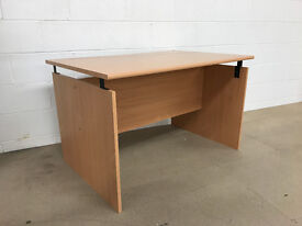 Large Beech Office / Home Desk Brand New