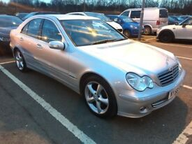 2007 MERCEDES BENZ C320 CDI 3.0 V6 AVANTGARDE 7G-TRONIC 240 BHP 0-60 IN 6.9 SECONDS, ONLY 86K