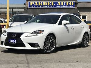 2014 Lexus IS 250 AWD*1 OWNER-OFF LEASE*STILL UNDER WARRANTY*