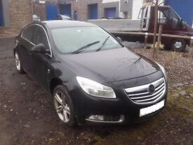 2010 Vauxhall Insignia Sri 2.0 CDTi Black BREAKING FOR PARTS SPARES