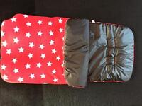 Reversible foot muff liner / Cosy toes