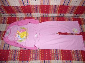 Girls Bundle of 3 pyjamas and 3 pyjama pants for 3-4 years.