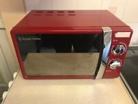 Kitchen accessories, toaster, kettle microwave RED