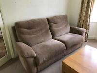 Very large comfy scs 3 seat superior sofa , great condition quality