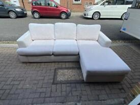 grey corner sofa from SCS Delivery available