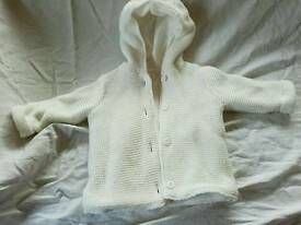 0-3 months Hooded coat
