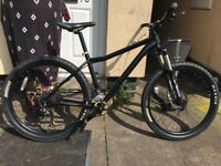 Voodoo Mountain bike Single Crank