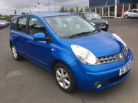 (58) Nissan NOTE 1.4 , mot - August 2019 , service history , 3 owners ,scenic,meriva,focus,astra,c4