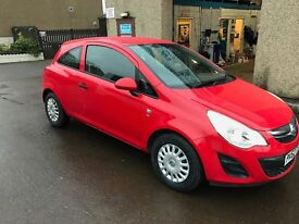 VAUXHALL CORSA, 2012, 1.0 LITRE Stunning Red, 1 Year mot and fully serviced