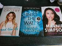 Chart books, Charlotte Crosby, marnie Simpson and into the water