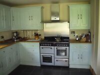 Quality kitchen for sale to include Stoves range cooker, fridge and dishwasher