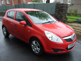 Vauxhall Corsa 1.0 Active 5 door.09 reg. 1 local owner 12 months mot.75000 miles with full history.