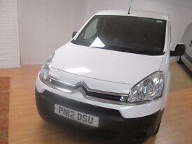 2012 berlingo 3 seats side UK van with history full years test mint van inside and out £30.25 week