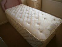 single divan bed complete in yeovil