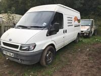 Breaking ford transit mk6