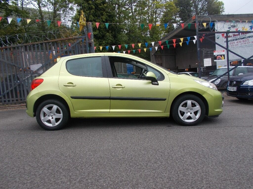 peugeot 207 1.4 16v sport 5dr ideal first car fabulous colour 06