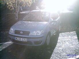 Fiat Punto 3 door hatchback *Sunroof* *Long Mot*
