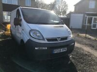 Vauxhall Vivaro, 55 Reg, Mot Feb '18, New Tyres, 6 Speed, ex BT Fleet