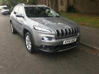 JEEP CHEROKEE 2.0 CRD LIMITED SUV 5dr DIESEL MANUAL