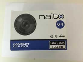 Dashcam Full HD with loop recording, night vision and G-forece sensor